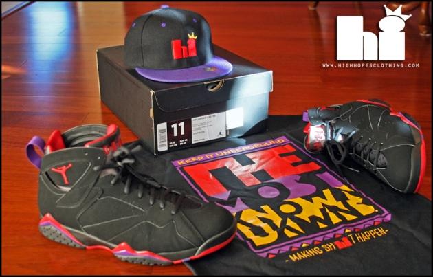 save off c1bb3 7c45f Image] Hi-Story x Jordan Retro 7 (Raptor) Showcase ...