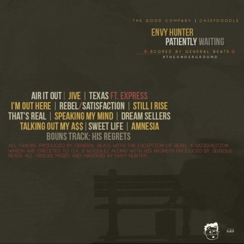 Envy Hunter - Patently Waiting [Tracklisting]